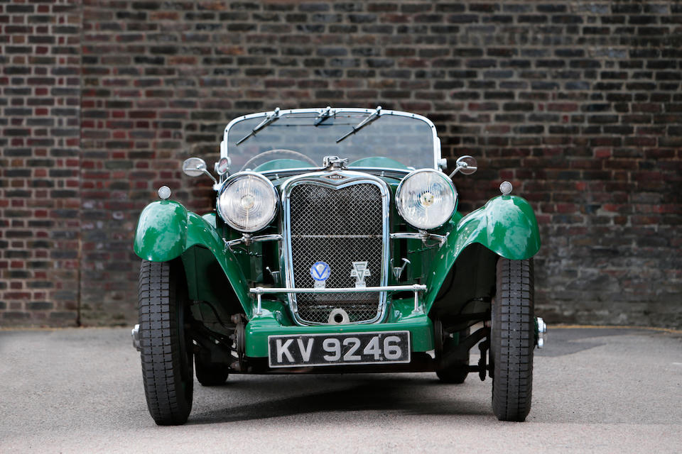 The ex-Works, Barnes/Langley, 1934 Le Mans 24-Hour Race, 1936 RAC Rally-winning,1934 Singer 1½-Litre Le Mans Sports  Chassis no. LM14 Engine no. G7545