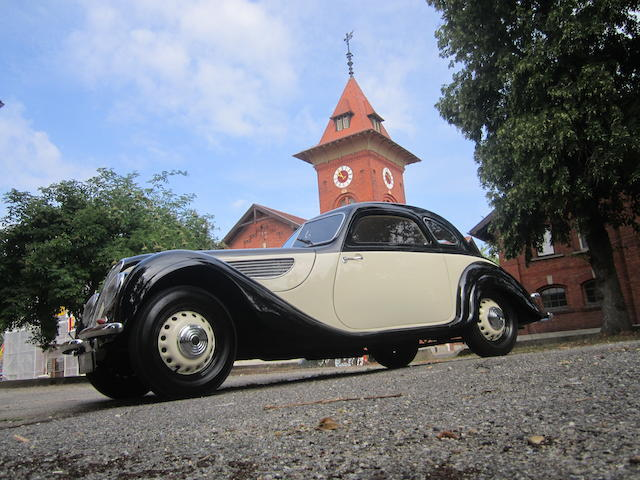 1944 BMW 327 Coupé  Chassis no. 74169