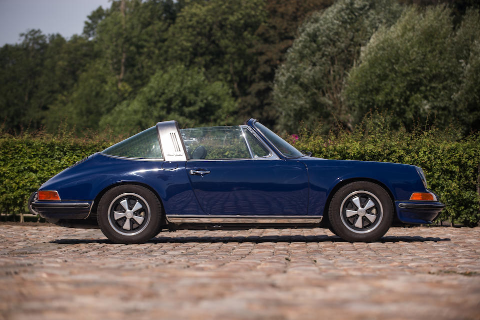 EU delivery and one of a mere 989 examples,1972 Porsche 911S 2.4-Litre Targa  Chassis no. 911 2310 791 Engine no. 6322095