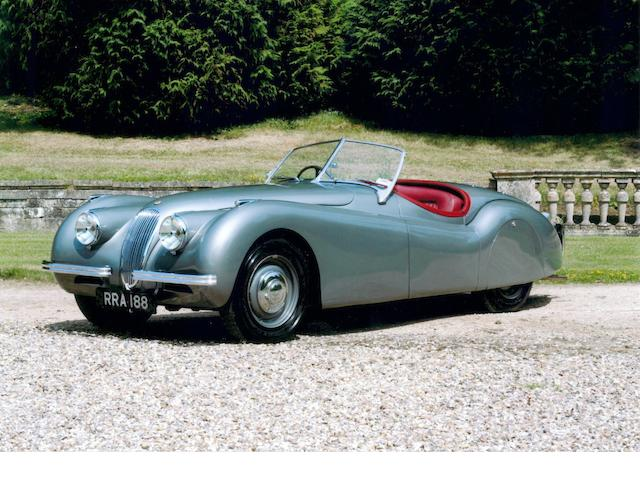1951 Jaguar XK120 Roadster  Chassis no. 660901 Engine no. W3416-7