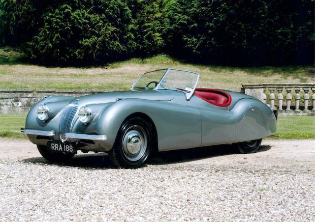 1951 Jaguar XK120 Roadster  Chassis no. 660901 Engine no. W3416-7