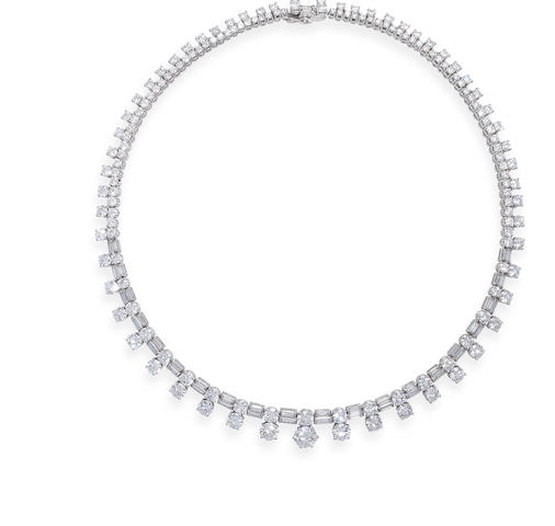 A diamond necklace, by Fasano