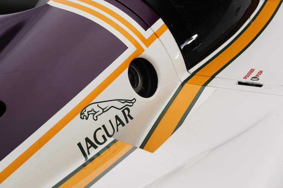 The ex-Walkinshaw Racing, Spa 1000km wining,1987 Silk Cut Jaguar XJR-8 Endurance Racing Group C Coupé  Chassis no. XJR8/3.87