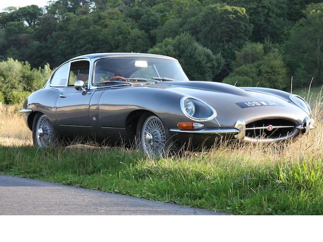 600 miles since restoration,1963 Jaguar E-Type Series 1 3.8-Litre Coupé  Chassis no. 861083 Engine no. RA1025-9