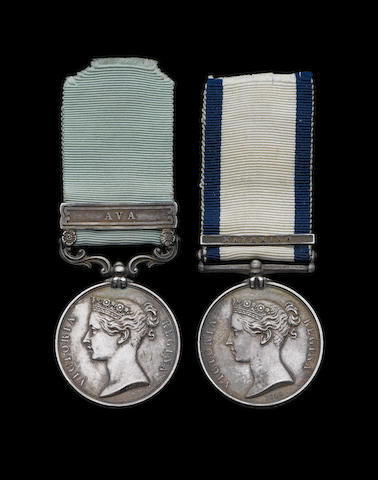 Pair to Surgeon S.Irvine, Royal Navy,