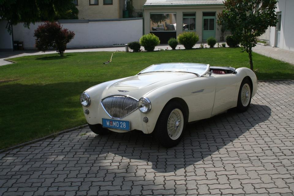 1954 Austin-Healey 100 BN1 Roadster  Chassis no. 159523 Engine no. 1B/214687