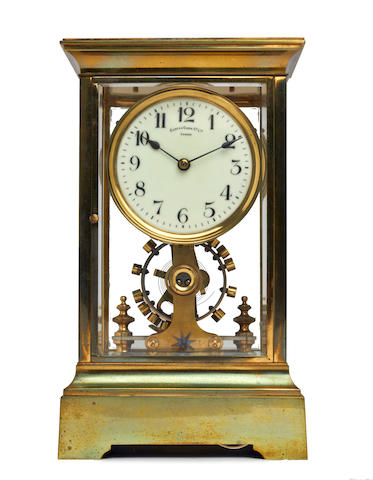An early 20th century four glass Eureka timepiece Eureka Clock Co. Ltd. London. Number 9793. Patent. No. 14614, dated 1906.