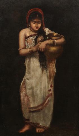Hemen Mazumdar (India, 1894-1948) After the Bath,