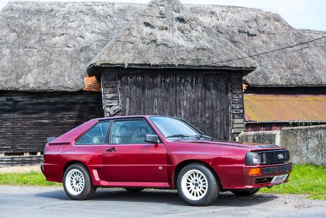 1985 Audi Quattro Sport SWB Coupé  Chassis no. WAUZZZ85ZEA905089 Engine no. KW000027
