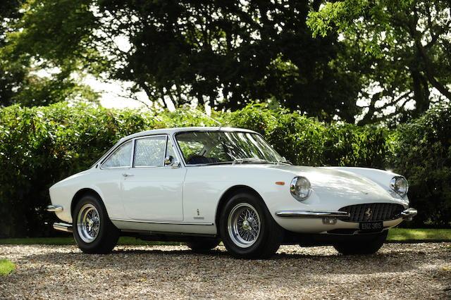 The ex-London Motor Show, Eric Clapton, Ferrari Classiche Certified, 31,000 miles from new,1969 Ferrari 365GTC Berlinetta  Chassis no. 12721
