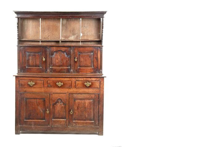 A rare mid-18th century oak dresser, Snowdonia, North Wales, circa 1740-60
