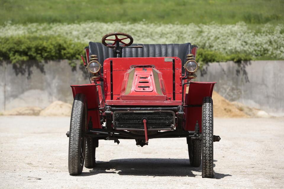 c.1904 De Dion Bouton 8hp Type V Rear Entrance Tonneau  Chassis no. 491