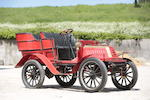 c.1904 De Dion Bouton 8hp Type V Rear Entrance Tonneau  Chassis no. 491