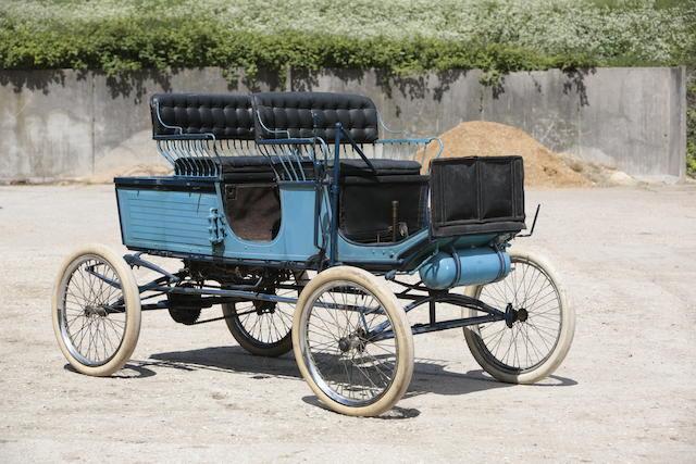c.1900 Locomobile Model 5 Locosurrey  Engine no. 1494
