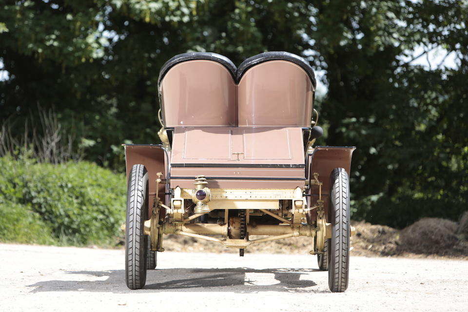 1903 Winton 22hp Twin-Cylinder Two-Seat Runabout  Chassis no. 7987