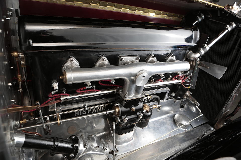 1930 Hispano-Suiza H6C 8.0-Litre Tourer  Chassis no. 12487 Engine no. S10017 (see text)