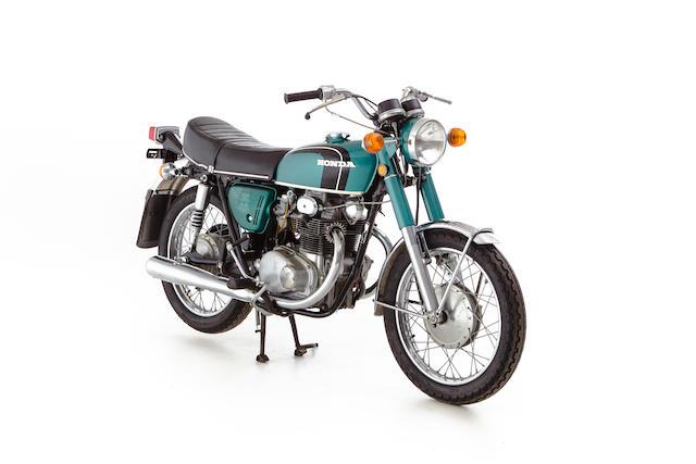 c.1971 Honda CB250K4 Frame no. CB250 4024966 Engine no. CB250E 408941
