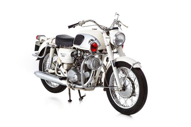 c.1967 Honda CB450P0 Police Motorcycle Frame no. CB450-1028307 Engine no. CB450E-1025635