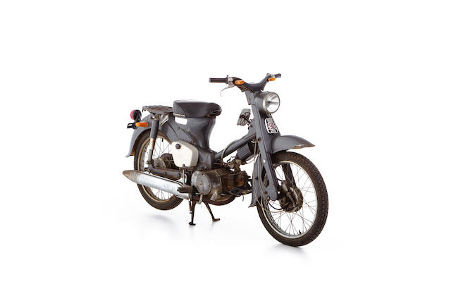 c.1965 Honda CM90 Project Frame no. CM90-141197