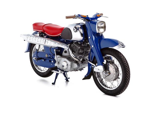 1960 Honda 247cc CS71 Dream Sports Frame no. C71-60-72983 Engine no. C71E-072983