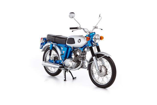 c.1970 Honda SS125 Frame no. SS125A-110990 Engine no. SS125AE-111015