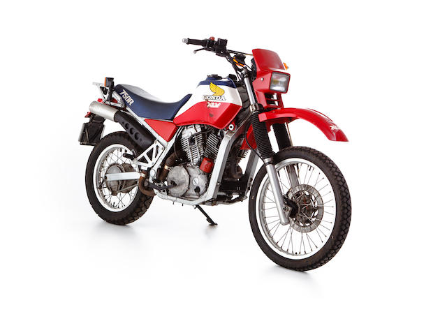 c.1984 Honda XLV750R Africa Twin Frame no. RD01-2000610 Engine no. RD01E-2003220