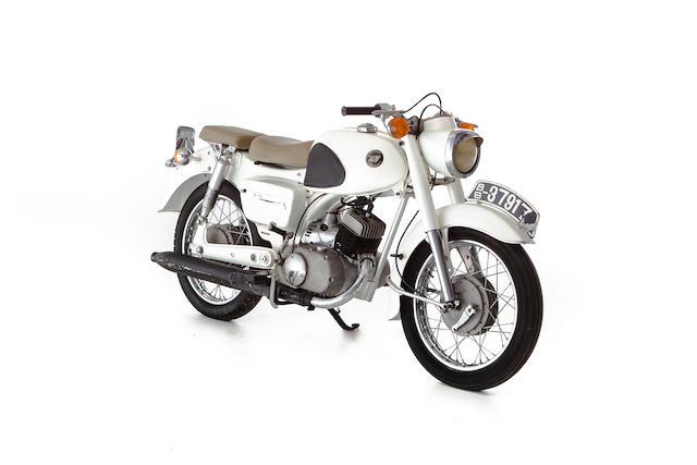 c.1963 Kawasaki 125cc B8 Frame no. B8-3791 Engine no. FE2427