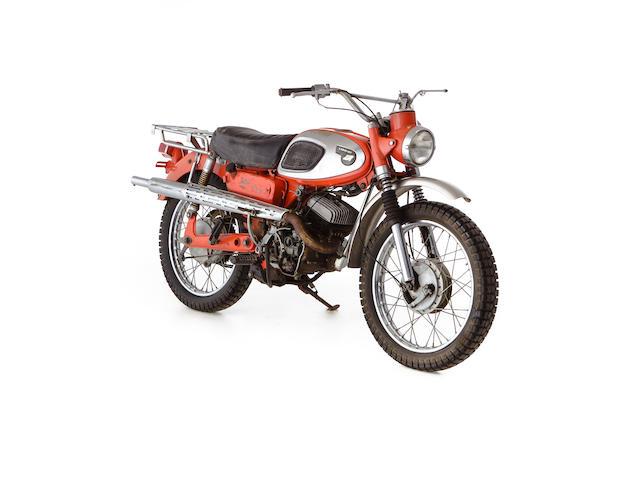 c.1966 Kawasaki 175cc F2TR Street Scrambler Frame no. F220679 Engine no. 500616