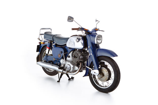 One of the first 144 Hondas imported into Europe,c.1959 Honda 247cc C71 Dream Frame no. C71-6024297 Engine no. C71E-024299