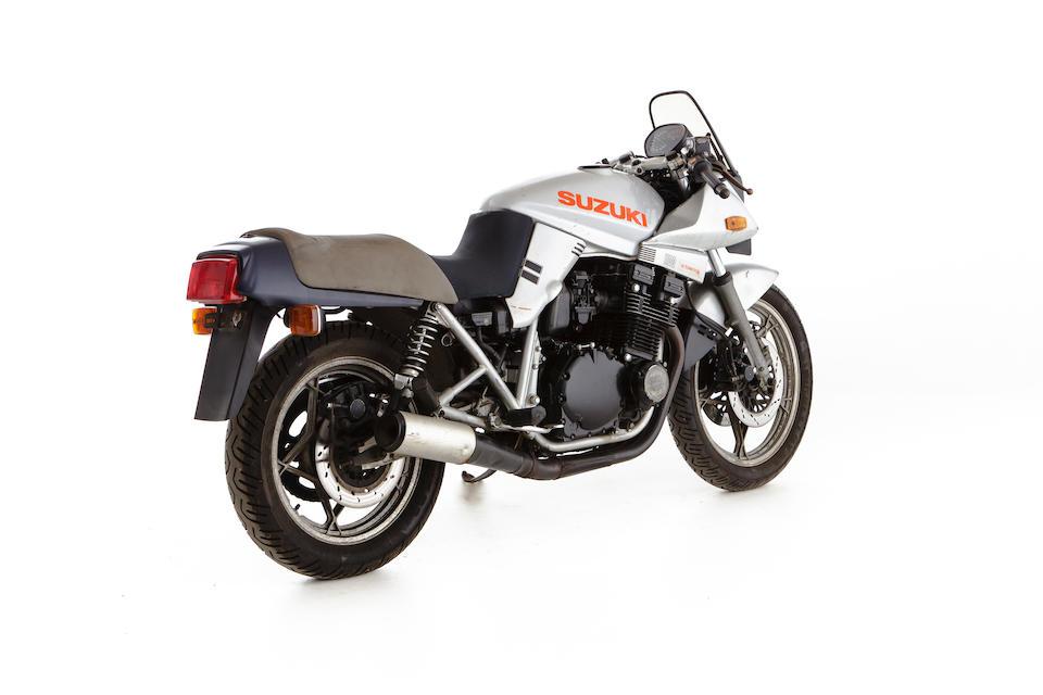 c.1982 Suzuki GSX1100 Katana Frame no. GSX110X-527169 Engine no. GSX110X-160193