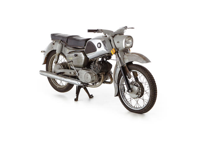 c.1961 Suzuki Colleda 125cc Seltwin Frame no. 61-SB-84539 Engine no. SBB-51023