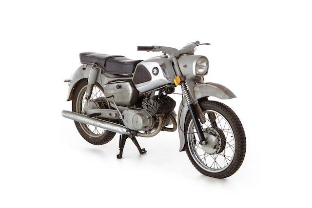 c.1961 Suzuki Colleda 125cc Seltwin Frame no. 61-SB-84539 Engine no. SBB-51023