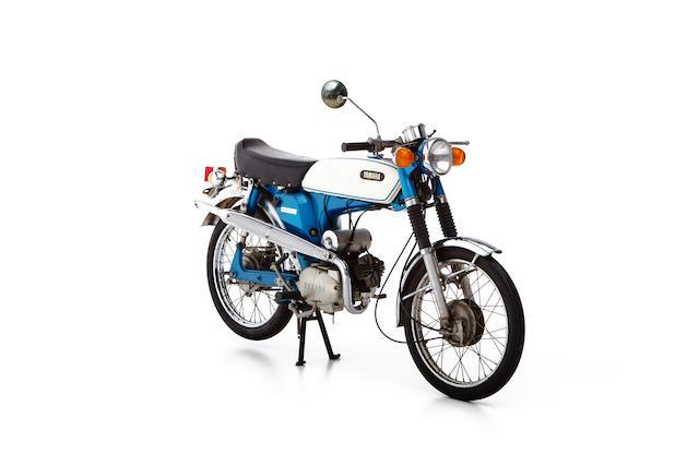 Never used,c.1974 Yamaha 49cc FS1 Frame no. FS1-027049