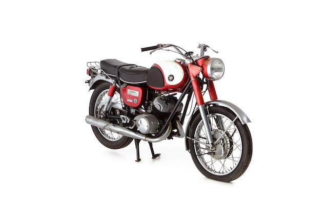 1964 Yamaha 246cc YDS3 Frame no. Y23-4954 Engine no. D9-4954