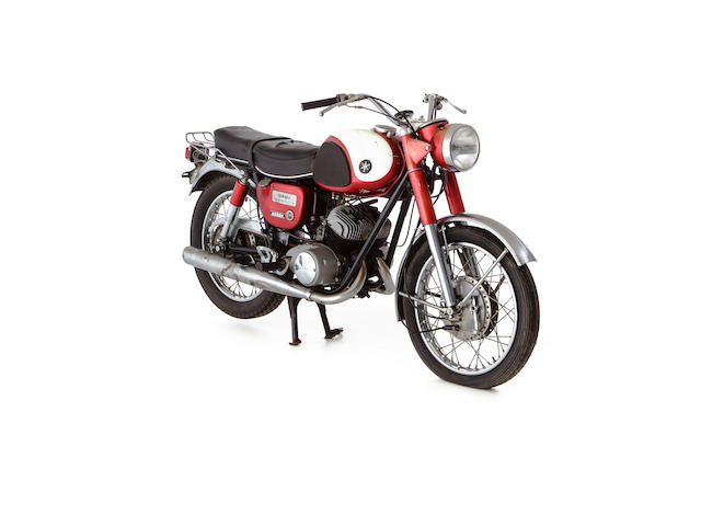 1964 Yamaha 246cc YDS3 Frame no. Y23-4954 Engine no. D9-4954