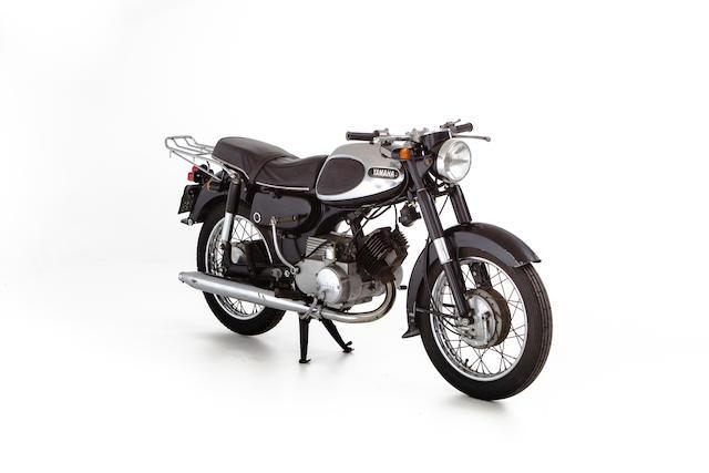 1965 Yamaha 123cc YA-3 Frame no. Y21-213287 Engine no. A7 - 213302