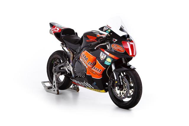 The ex-HM Plant, Steve Brogan, Ian Hutchinson,2007 Honda CBR1000RR Fireblade Superstock Racing Motorcycle Frame no. JH2SC57A56M200229
