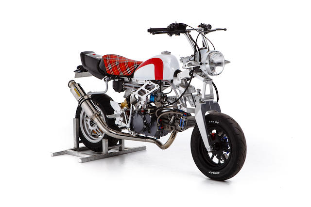 c.2012 Kepspeed KP36 150cc Monkey Bike Frame no. 1P56FMJ-91381109
