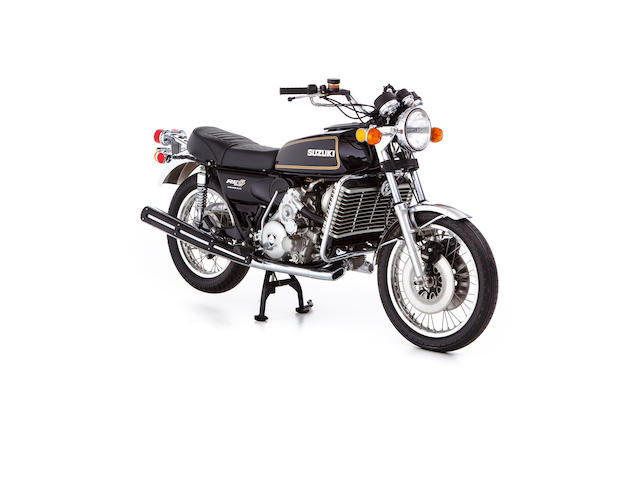 2 'push' miles from new,c.1976 Suzuki 497cc RE5 Frame no. RE5-14316 Engine no. RE5-14062