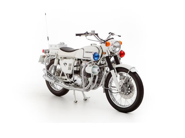 1969 Honda CB750 Police Motorcycle Frame no. CB750-1027248 Engine no. CB750E-1027840