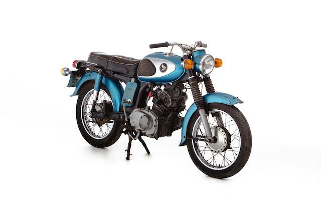 c.1968 Honda CD175 Frame no. CD175-1027957 Engine no. CD175E-1028523