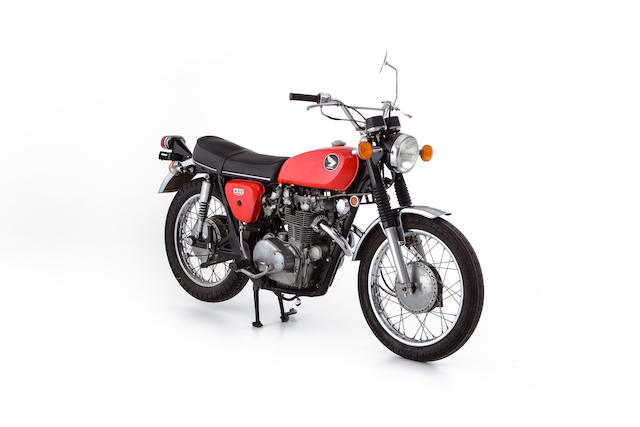 c.1969 Honda CL450K1 Scrambler Frame no. CL450-1009954 Engine no. CL450E-5017028