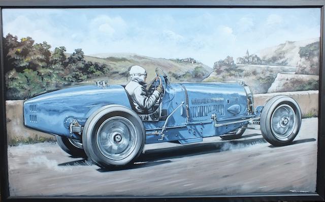 Tony Upson, 'Bugatti Type 54',