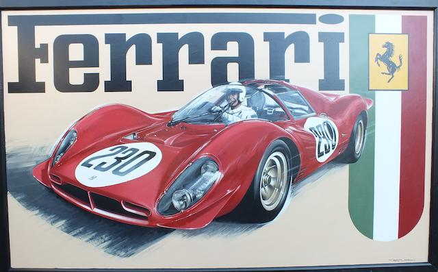 Tony Upson, '1967 Ferrari P3',
