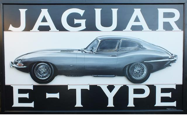 Tony Upson, 'Jaguar E-Type',