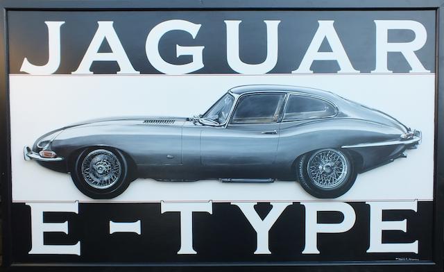 Tony Upson, 'Jaguar E-Type',