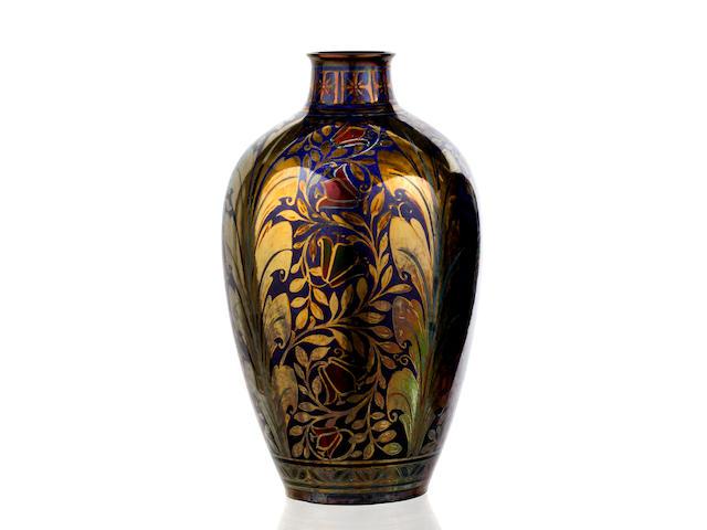 A Pilkington Royal Lancastrian lustreware vase