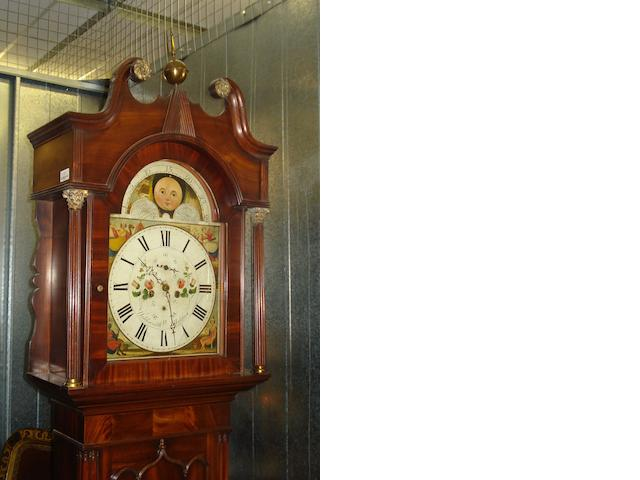 William Holdsworth, Halifax A 19th Century mahogany longcase clock,