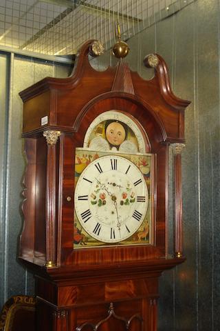 William Holdsworth, Halifax A 19th Century mahogany longcase clock,