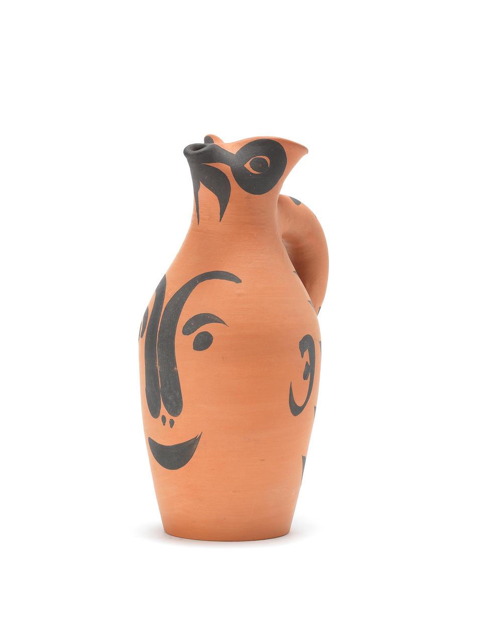 Pablo Picasso (1881-1973) Yan visage 27cm (10 5/8in) high